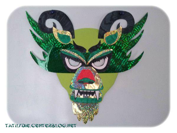 masque dragon. Black Bedroom Furniture Sets. Home Design Ideas